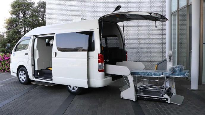 Toyota Hiace COVID-19
