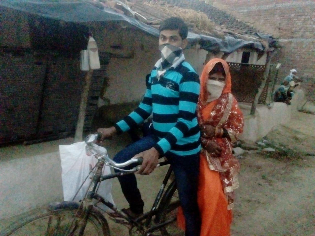 Kalku Prajapati kayuh sepeda sejauh 100 km untuk menikah