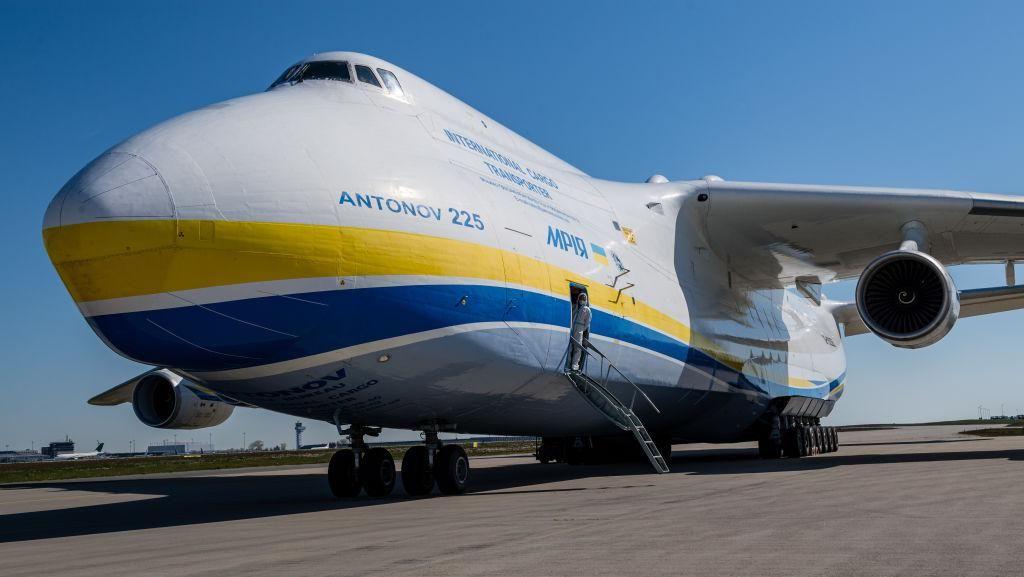Pesawat Kargo Jumbo Antonov Mendarat di Yogya, Angkut Ekspor ke AS
