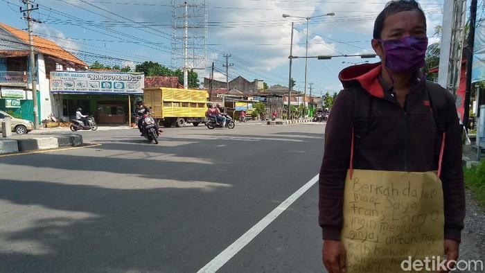 Pria Klaten ini rela jual ginjal usai dirumahkan gegara pandemi Corona