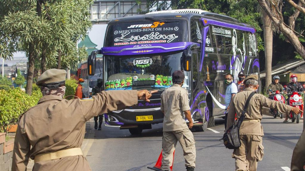 Ini Lokasi Penyekatan Pemudik Keluar Jakarta