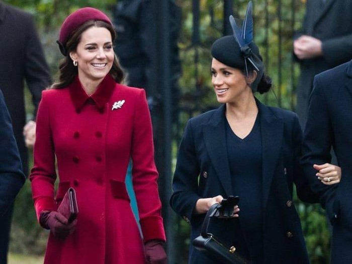 Kate Middleton dan Meghan Markle. Foto: Instagram