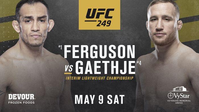 Tony Ferguson Vs Justin Gaethje: Laga UFC di Tengah Pandemi (UFC)