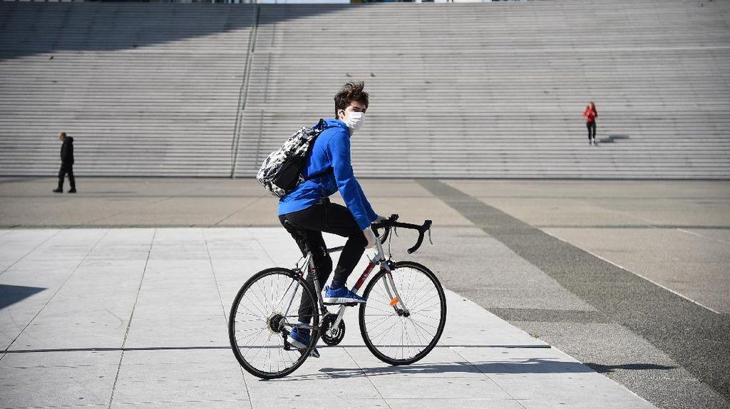 Cegah Gelombang Kedua Corona, Prancis Dorong Penggunaan Sepeda