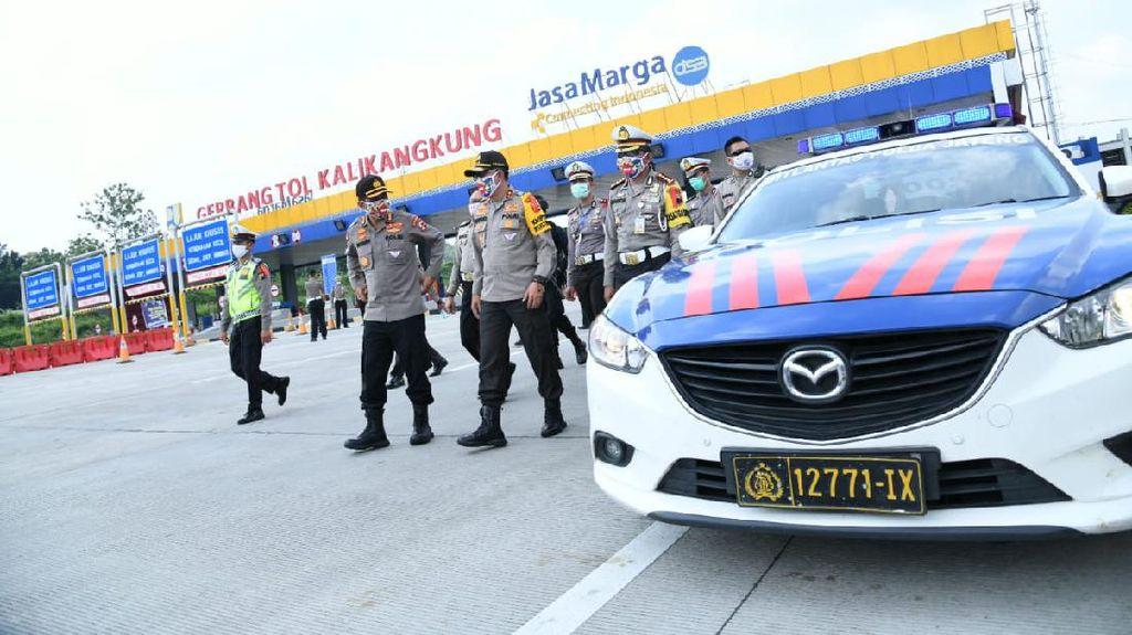 29 Hari Operasi Ketupat, 68.946 Kendaraan Diputarbalikkan Polisi