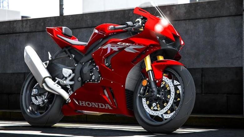Ilustrasi All New Honda CBR600RR-R