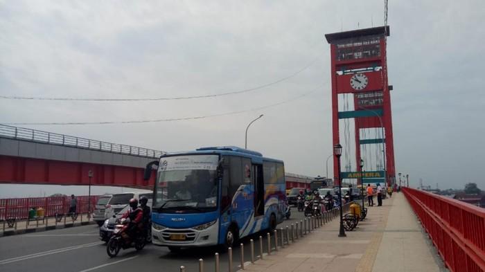 Kota Palembang, jembatan ampera