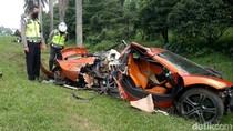 Teka-teki Pemilik McLaren yang Ringsek di Tol Jagorawi