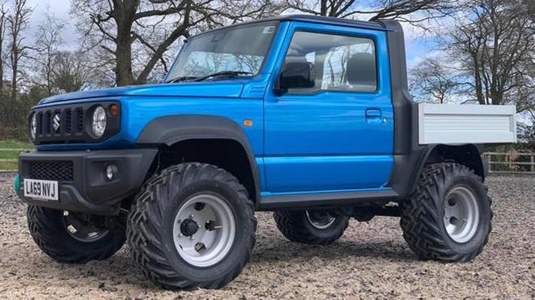 Modifikasi Suzuki Jimny
