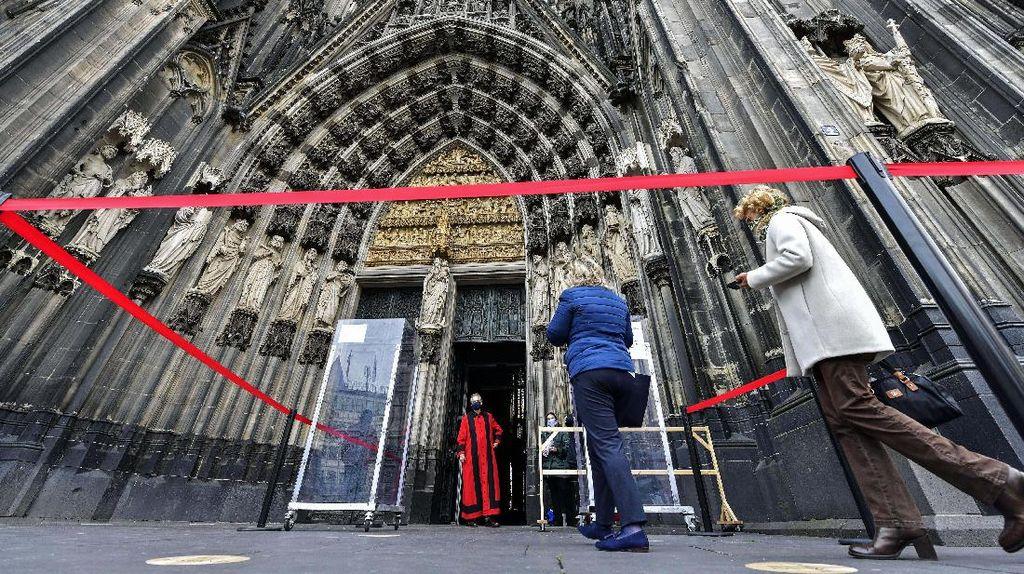 Jerman Longgarkan Lockdown, Gereja Cologne Mulai Dibuka