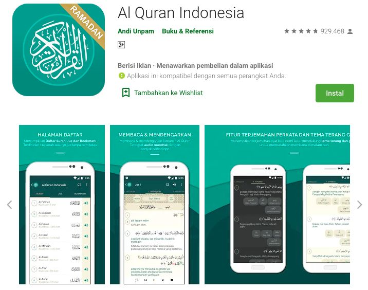 3 Rekomendasi Aplikasi Al Qur An Biar Makin Rajin Ngaji Selama Ramadhan