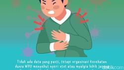 Virus Corona COVID-19 tidak melulu ditandai dengan gejala demam dan sesak napas. Sedikitnya ada 6 gejala baru yang mungkin tidak terbayangkan sebelumnya.