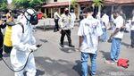 Nekat Rayakan Kelulusan, Pelajar di Pasuruan Disemprot Disinfektan
