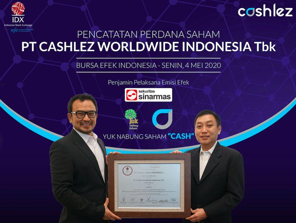 IPO PT Cashlez Worldwide Indonesia Tbk (CASH)/BEI