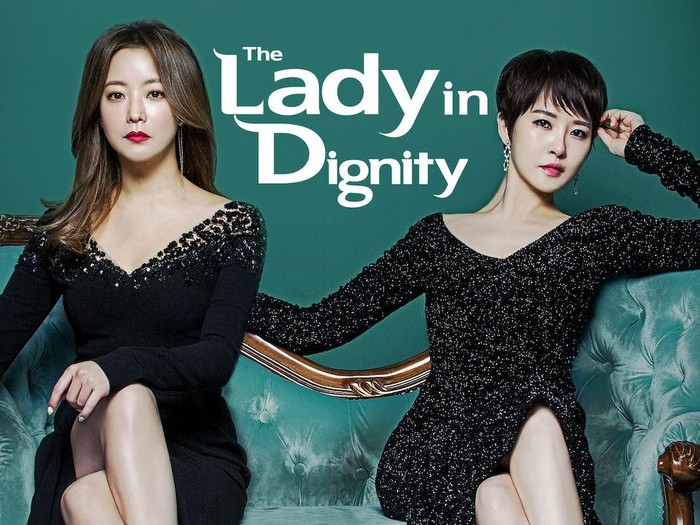 Poster drama Korea The Lady in Dignity (tvN)