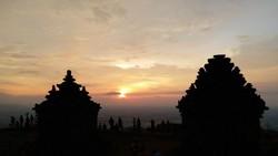 Candi Ijo, Spot Cantik Menikmati Sunset di Jogja