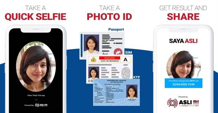 Asli RI merilis aplikasi Saya Asli sebagai alat verifikasi dalam keamanan transaksi secara online.