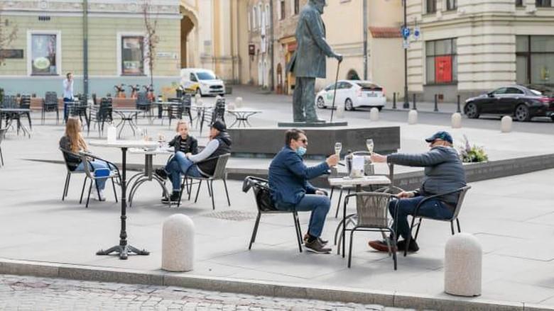 Kafe di Kota Vilnius