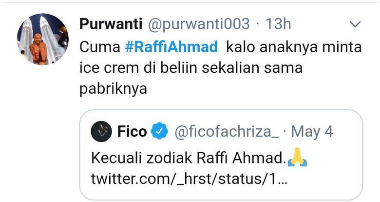 cuitan #raffiahmad