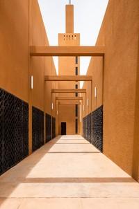 Proses pembangunan dan renovasi masjid tersebut diketahui dilakukan oleh perusahaan arsitektur Atelier Masomi. Istimewa/Dok. James Wang via Archdaily.