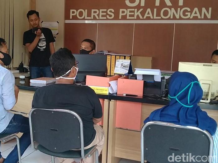 ABG yang viral dihajar dan dituduh rebut pacar di Pekalongan lapor polisi, Selasa (5/5/2020).