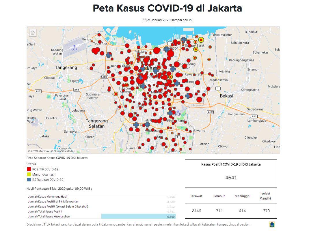 Corona Jakarta 5 Mei