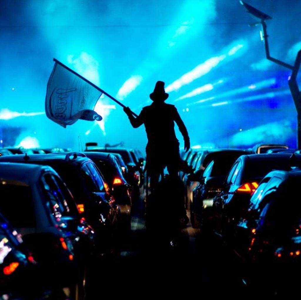 Kolaborasi Armand Maulana dan Afgan Jadi Pengisi Konser Drive-in