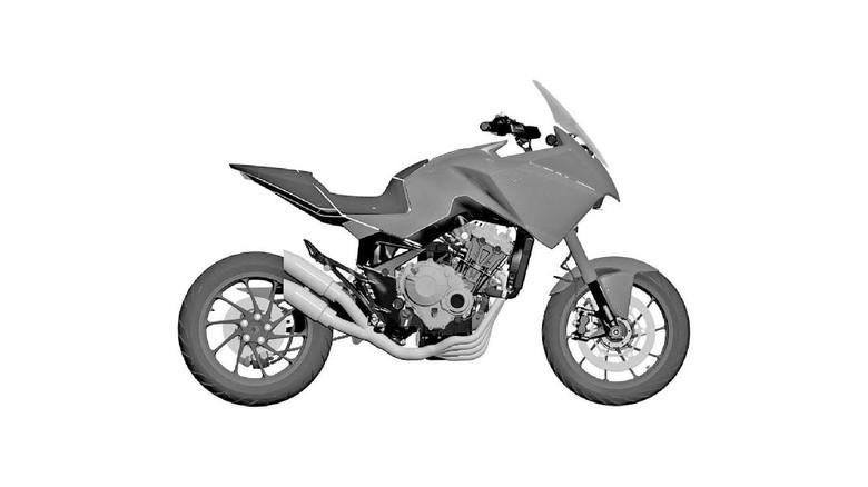Honda ADV 4 Silinder
