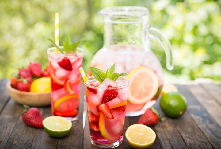3 jenis lemonade untuk buka puasa