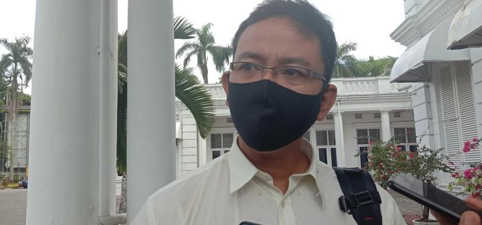 Jubir Gugus Tugas COVID-19 Sumut, Mayor Kes Whiko Irwan (Ahmad Arfah-detikcom)