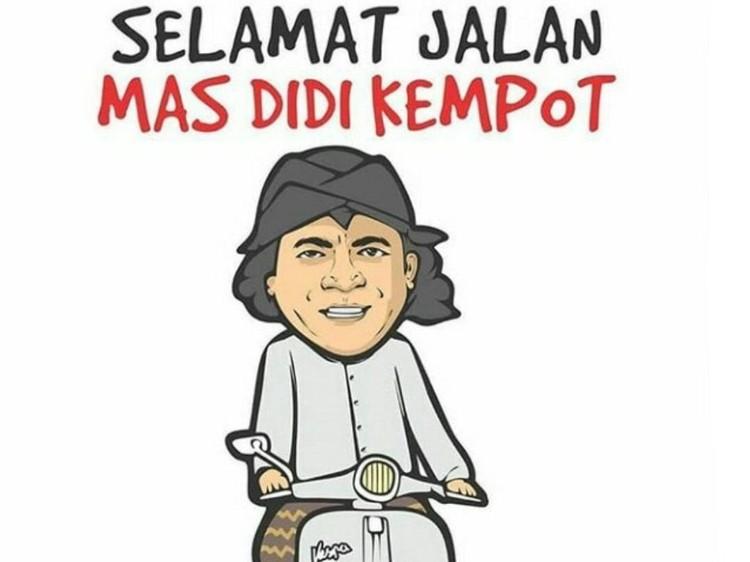 Meme Didi Kempot Meninggal