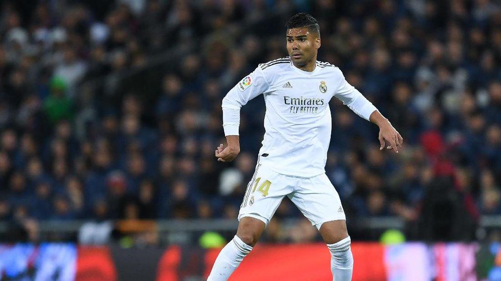 Inter Milan Vs Real Madrid: Sudah Negatif Virus Corona, Casemiro Siap Tampil