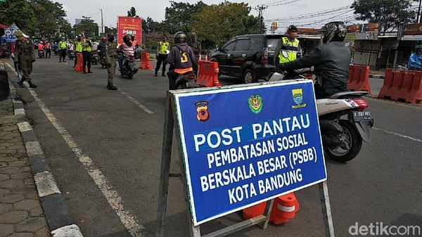 Ini Loh Bedanya Aturan Psbb Bandung Raya Dan Jawa Barat