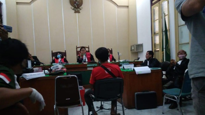 Sidang lanjutan kasus pembunuhan hakim Jamaluddin (Datuk Haris Molana-detikcom)