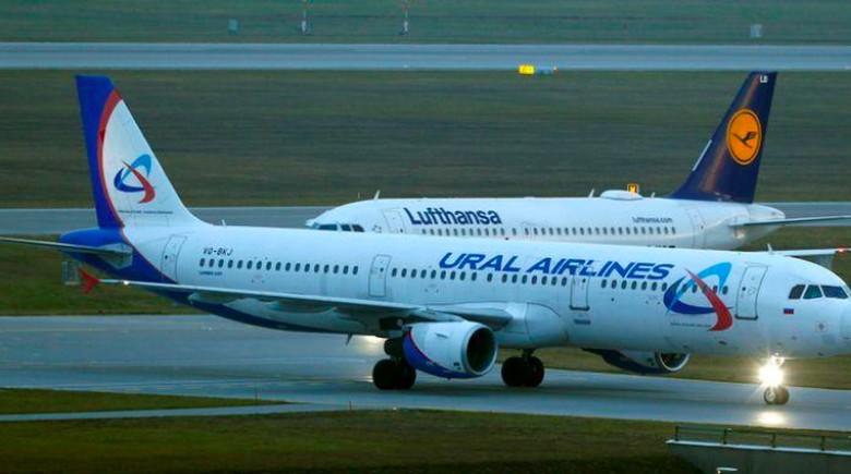 Ural Airlines jual makanan pesawat