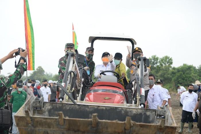 Kegiatan Gubernur Riau Syamsuar di Kampar (Chaidir-detikcom)