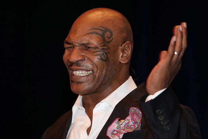 BRISBANE, AUSTRALIA - NOVEMBER 16:  Mike Tyson speaks on stage during his speaking tour,