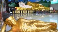 Patung Budha Tidur juga Ditutup Selama PSBB Jabar