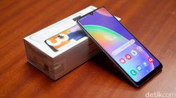 Samsung Galaxy A31 Kamera Oke, Asyik Buat Nge-Game