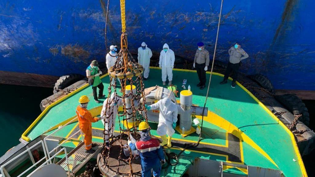 Total 15 ABK Tanker yang Sandar di Pelabuhan Muntok Positif Corona