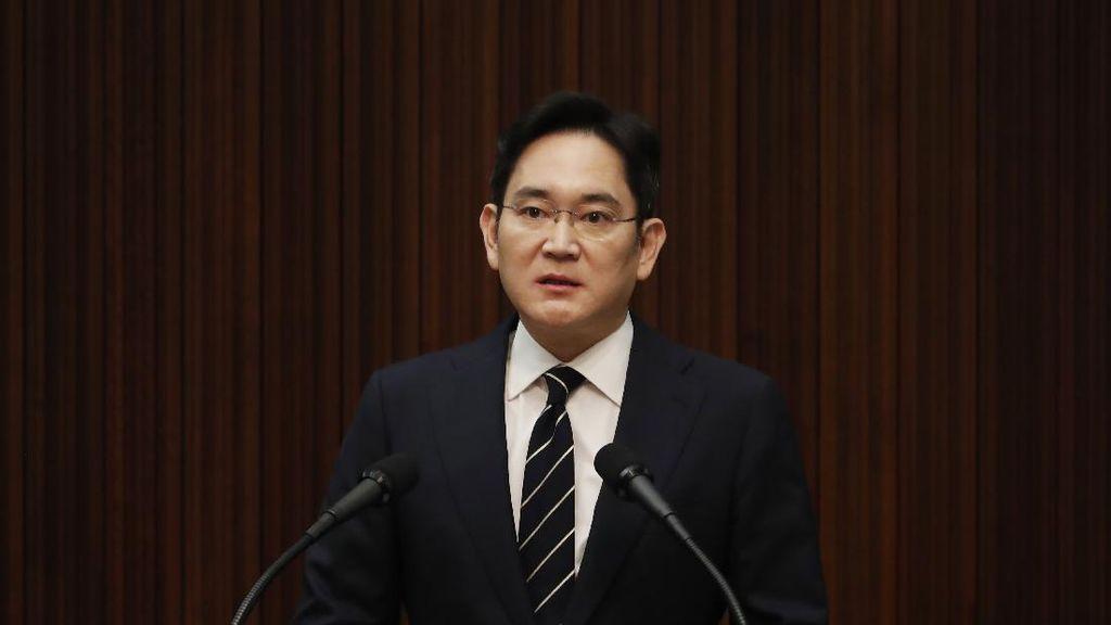 Kejaksaan Korsel Ajukan Penangkapan Bos Samsung Lee Jae-yong