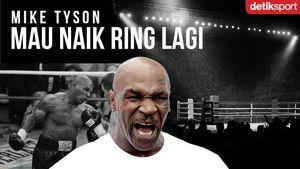 Mike Tyson Mau Naik Ring Lagi