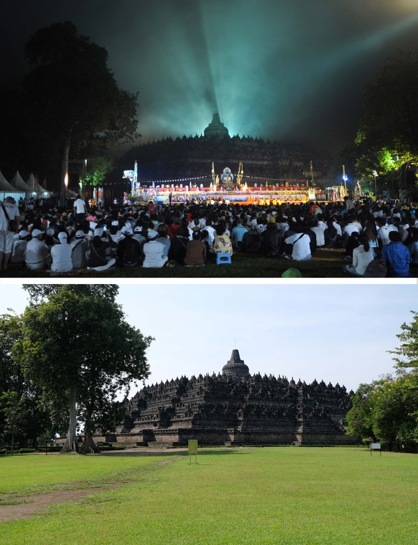 Padahal, perayaan hari raya Tri Suci Waisak selalu dipadati sejumlah pengunjung baik dari dalam maupun luar negeri.