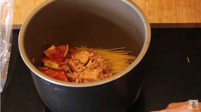 Resep pasta tuna pakai rice cooker