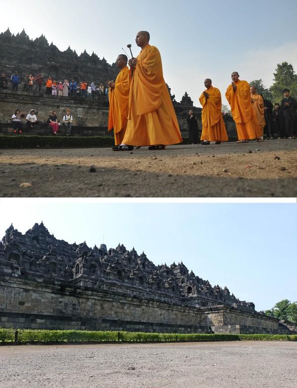 Dewan Pengurus Pusat Perwakilan Umat Buddha Indonesia (WALUBI) tidak menyelenggarakan perayaan kegiatan Waisak tahun 2020 di candi Mendut dan Candi Borobudur untuk mencegah penyebaran pandemi COVID-19.