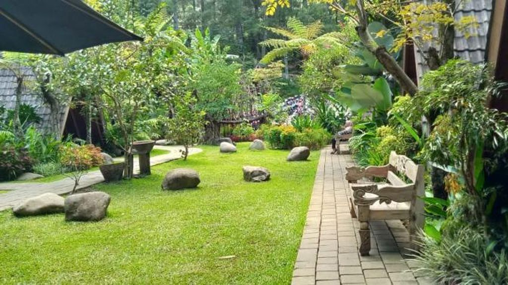 Foto: Ini Tempat Asyik Buat Ngadem di Bandung