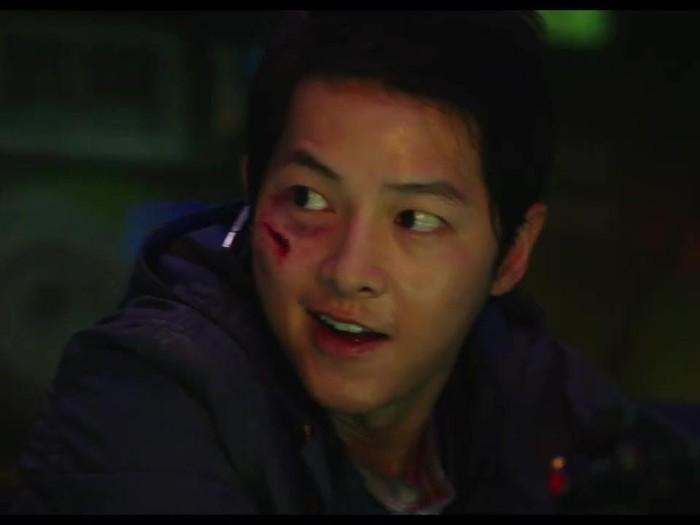 Song Joong Ki dalam film Space Sweepers