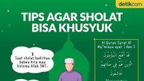 Tips Agar Khusyuk dalam Sholat