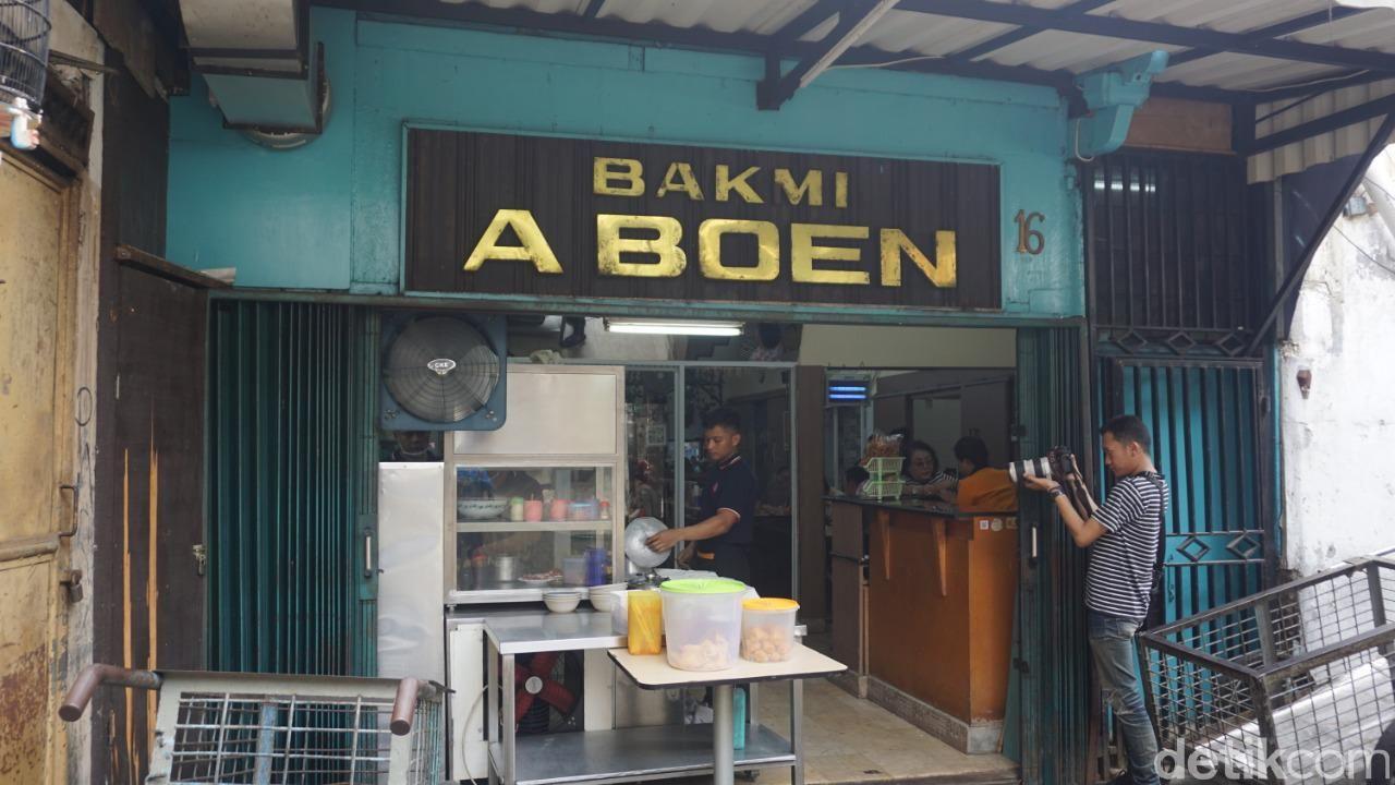 Bakmi Aboen di Pasar Baru