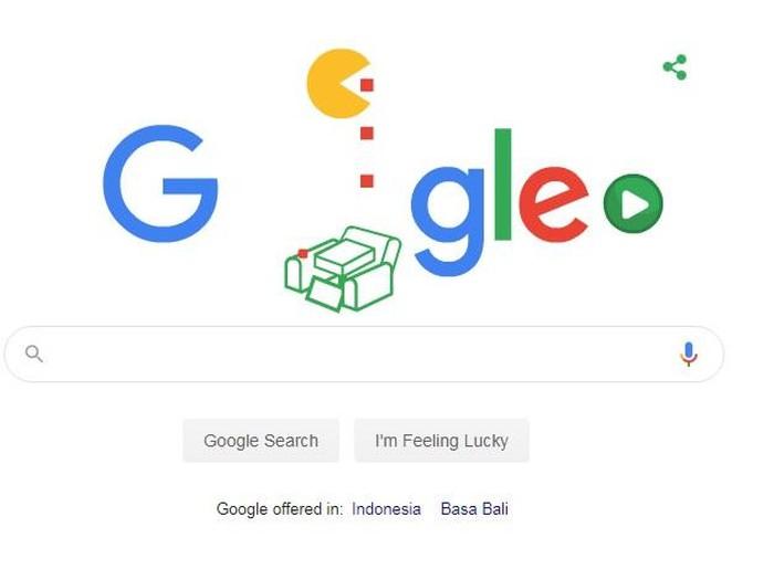 Game Google Doodle populer Pac Man